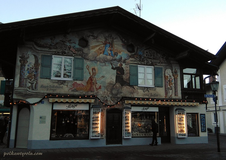 Garmisch Bawaria Niemcy