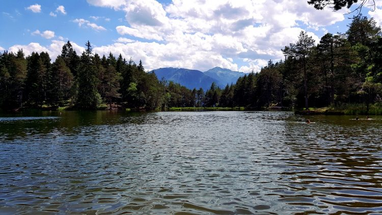 Möserer See Tyrol Seefeld Telfs