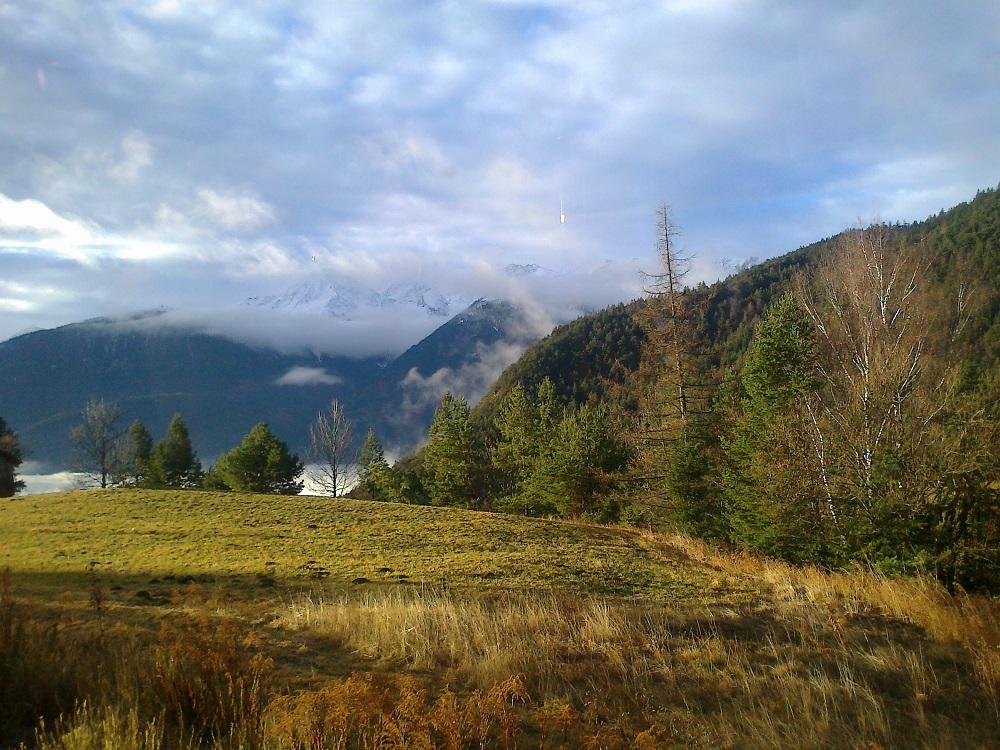 Tyrol Alpy jesień