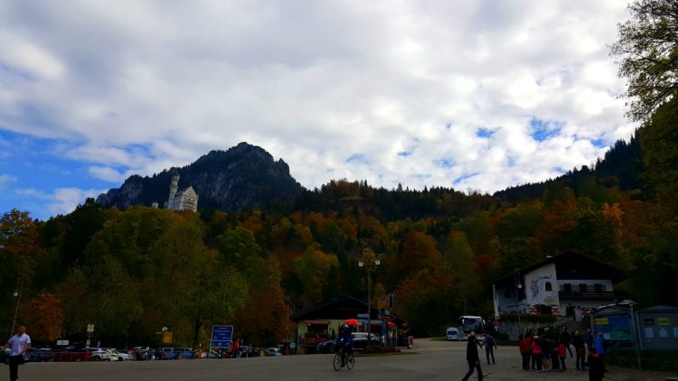 zamek neuschwanstein parking