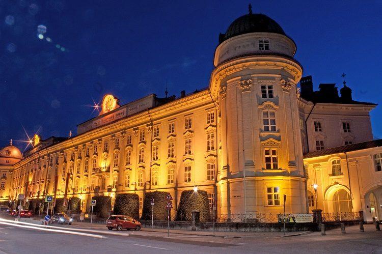 hofburg innsbruck noc muzeów