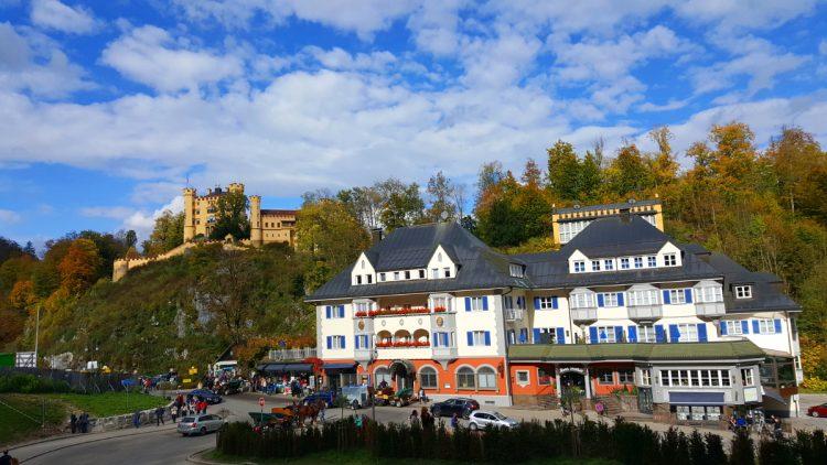 zamek neuschwanstein hotel Müller Hohenschwangau