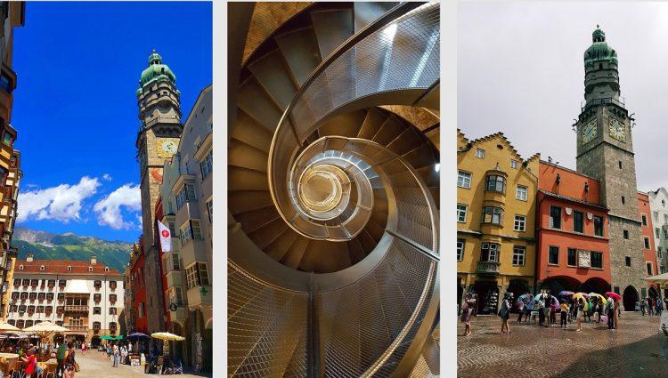 innsbruck wieża miejska stadtturm